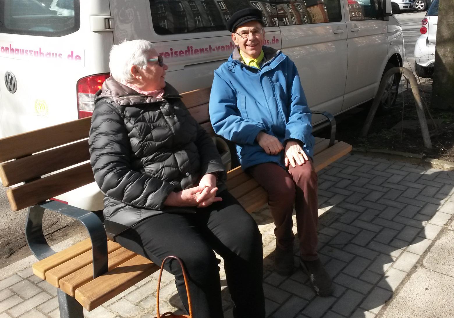 Neue Bänke für die Frickestraße – Hort der Ruhe und Erholung?